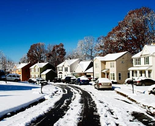 why list your house in the winter
