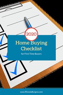 2020 Home Buying Checklist