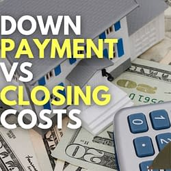 down payment vs closing costs video