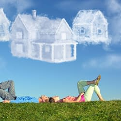 dreaming of buying a house